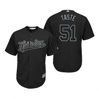 Chicago White Sox Carson Fulmer Taste Black 2019 Players Weekend MLB Jersey