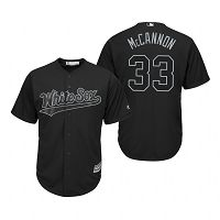 Chicago White Sox James McCann Mccannon Black 2019 Players Weekend MLB Jersey