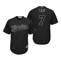 Women's Chicago White Sox Tim Anderson TA7 Black 2019 Players Weekend MLB Jersey