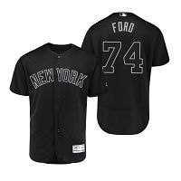 New York Yankees Mike Ford Ford Black 2019 Players Weekend MLB Jersey