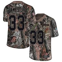 Los Angeles Chargers #33 Derwin James Jr Camo Men's Stitched NFL Limited Rush Realtree Jersey