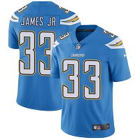 Los Angeles Chargers #33 Derwin James Jr Electric Blue Alternate Women's Stitched NFL Vapor Untouchable Limited Jersey