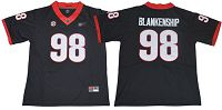 Women's Georgia Bulldogs #98 Rodrigo Blankenship Black Limited Stitched NCAA Jersey
