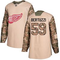 Detroit Red Wings #59 Tyler Bertuzzi Camo Authentic 2017 Veterans Day Stitched NHL Jersey