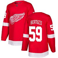 Detroit Red Wings #59 Tyler Bertuzzi Red Home Authentic Stitched NHL Jersey