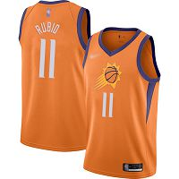 Phoenix Suns #11 Ricky Rubio Orange NBA Swingman Statement Edition 2019/2020 Jersey