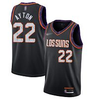 Phoenix Suns #22 Deandre Ayton Black NBA Swingman City Edition 2019/20 Jersey