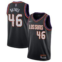 Phoenix Suns #46 Aron Baynes Black NBA Swingman City Edition 2019/20 Jersey