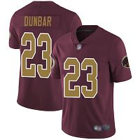 Washington Redskins #23 Quinton Dunbar Burgundy Red Alternate Men's Stitched NFL Vapor Untouchable Limited Jersey
