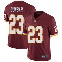 Washington Redskins #23 Quinton Dunbar Burgundy Red Team Color Men's Stitched NFL Vapor Untouchable Limited Jersey