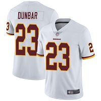 Washington Redskins #23 Quinton Dunbar White Men's Stitched NFL Vapor Untouchable Limited Jersey