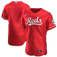 Men's Cincinnati Reds Nike Blank Scarlet Alternate 2020 Team Jersey