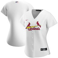 Women's Nike St. Louis Cardinals Blank White Home 2020 Jersey