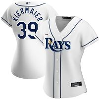 Women's Nike Tampa Bay Rays #39 Kevin Kiermaier White Home 2020 Player Jersey