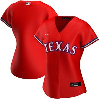 Women's Nike Texas Rangers Blank Red Alternate 2020 MLB Jersey
