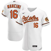 Men's Nike Baltimore Orioles #16 Trey Mancini White Home 2020 Authentic Player MLB Jersey