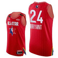Men's Jordan Brand #24 Kobe Bryant Red 2020 NBA All-Star Game Jersey