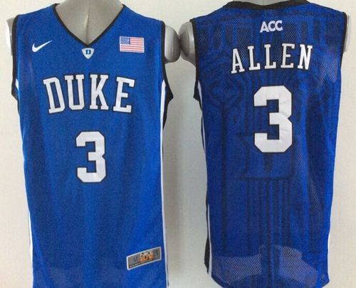 Duke Blue Devils #3 Grayson Allen Royal Blue Basketball New Stitched NCAA Jersey