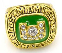 NCAA Miami Hurricanes World Champions Gold Ring_3