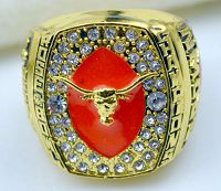 NCAA Texas Longhorns World Champions Gold Ring_1