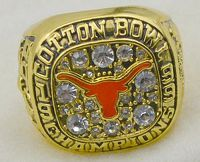 NCAA Texas Longhorns World Champions Gold Ring_2