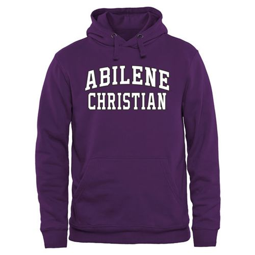 Abilene Christian University Wildcats Everyday Pullover Hoodie Purple