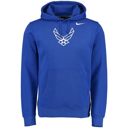 Air Force Falcons Nike Big Logo Fleece Hoodie Royal