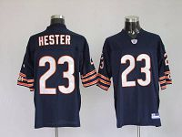 Men's Chicago Bears #23 Devin Hester Blue Stitched NFL Jersey