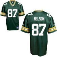 Men's Green Bay Packers #87 Jordy Nelson Green Stitched NFL Jersey