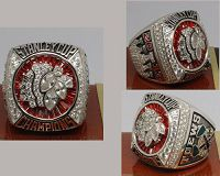 2013 NHL Championship Rings Chicago Blackhawks Stanley Cup Ring