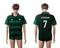 Real Betis #7 Joaquin Away Soccer Club Jersey