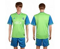 Seattle Sounders Blank Home Soccer Club Jersey