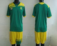 South African Blank 2012/2013 Green Away Soccer Country Jersey