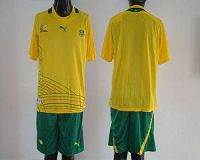 South African Blank 2012/2013 Yellow Home Soccer Country Jersey