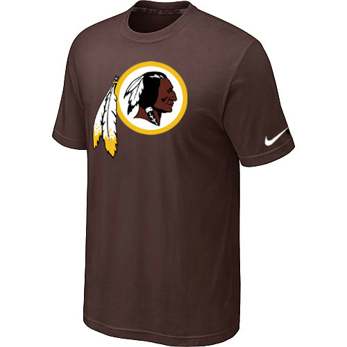 Nike Washington Redskins Sideline Legend Authentic Logo Dri-FIT NFL T-Shirt Brown