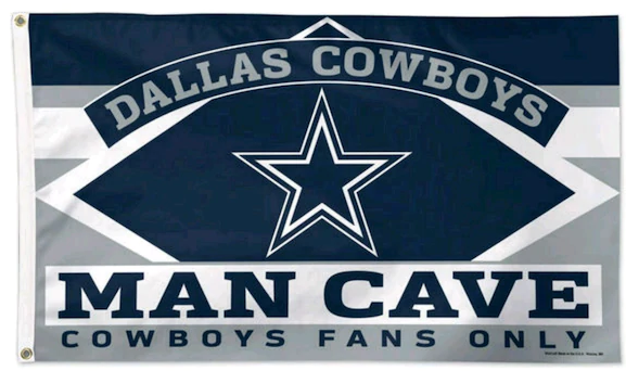 NFL Dallas Cowboys & Stripes 3' x 5'(90*150 cm) Flag
